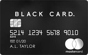 ラグジュアリーカード Black Card