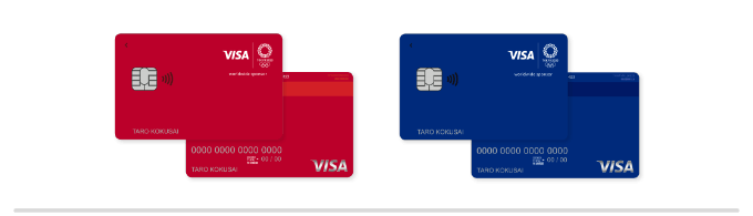 Visa LINE Payクレジットカード東京2020オリンピック
