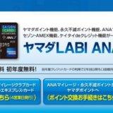 ヤマダLABI ANAマイレージクラブカードの詳細